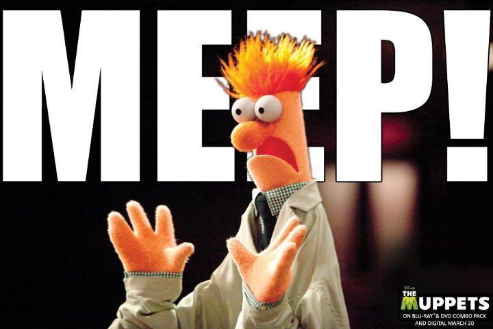 Beaker is by far my favorite muppet