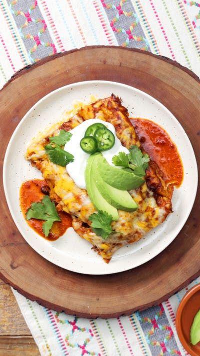Cheesy Beef Enchiladas ~ Recipe | Tastemade