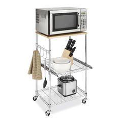 Supreme Microwave Cart Chrome Kmart Microwave Cart Kitchen