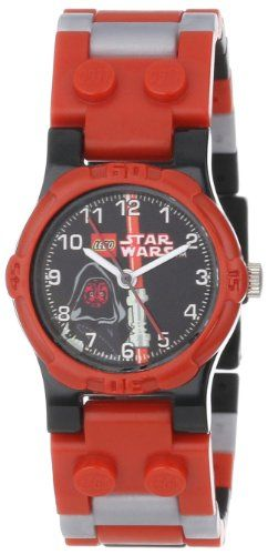 Lego Kids 9002953 Star Wars Darth Maul Watch Star Wars Kids Star Wars Darth Star Wars Watch