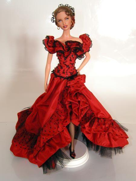 Madonna La Isla Bonita By Magia 2000 Barbie Gowns Barbie Costume Barbie Dress