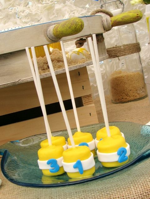 """Photo 1 of 28: Nautical Baby Shower / Baby Shower/Sip & See """"Ahoy, Baby!"""" 