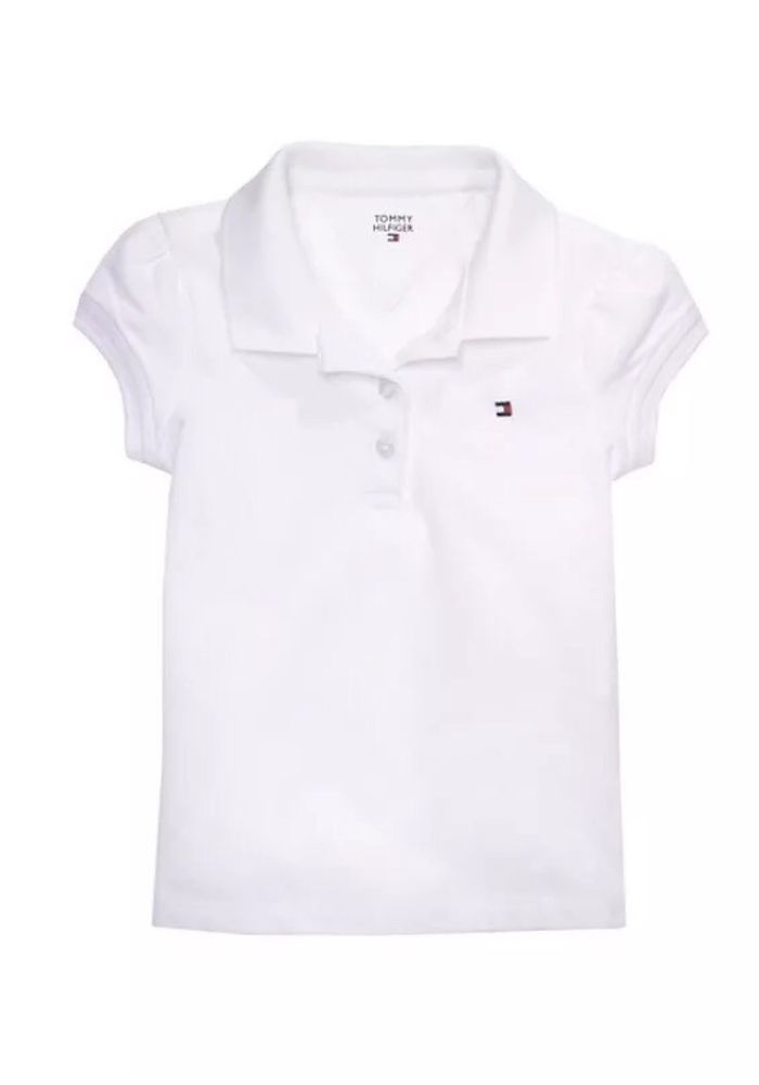 4836d61b new tommy #hilfiger toddler girl polo shirt white size 4t nwt from $14.99