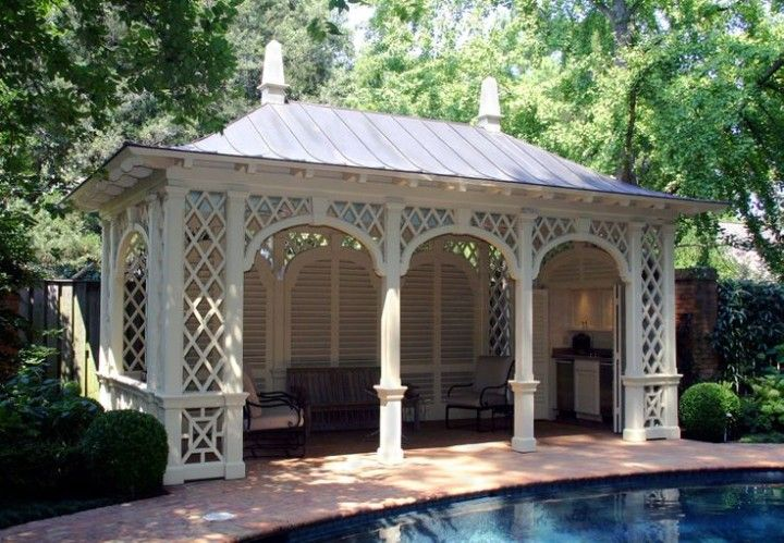 Pool House Chic Follies Cabanas and Tents & Pool House Chic: Follies Cabanas and Tents | Pool houses Cabana ...