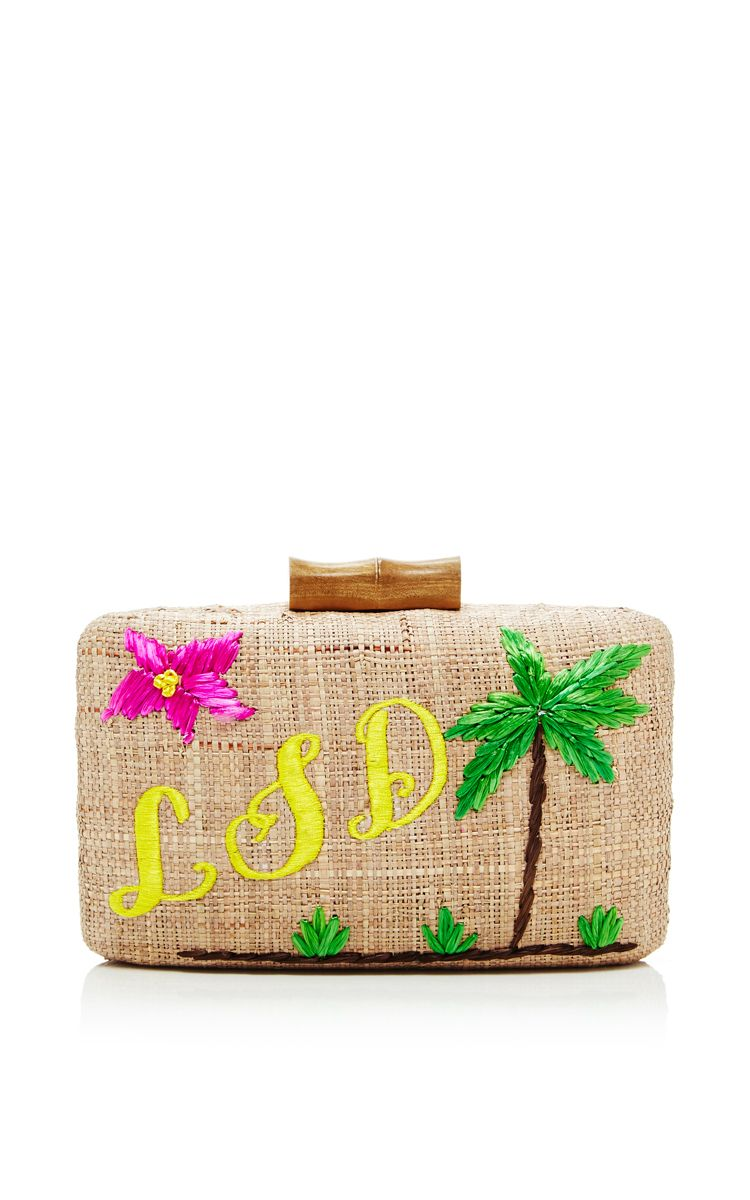 Kayu Bali Moulded Clutch by KAYU for Preorder on Moda Operandi