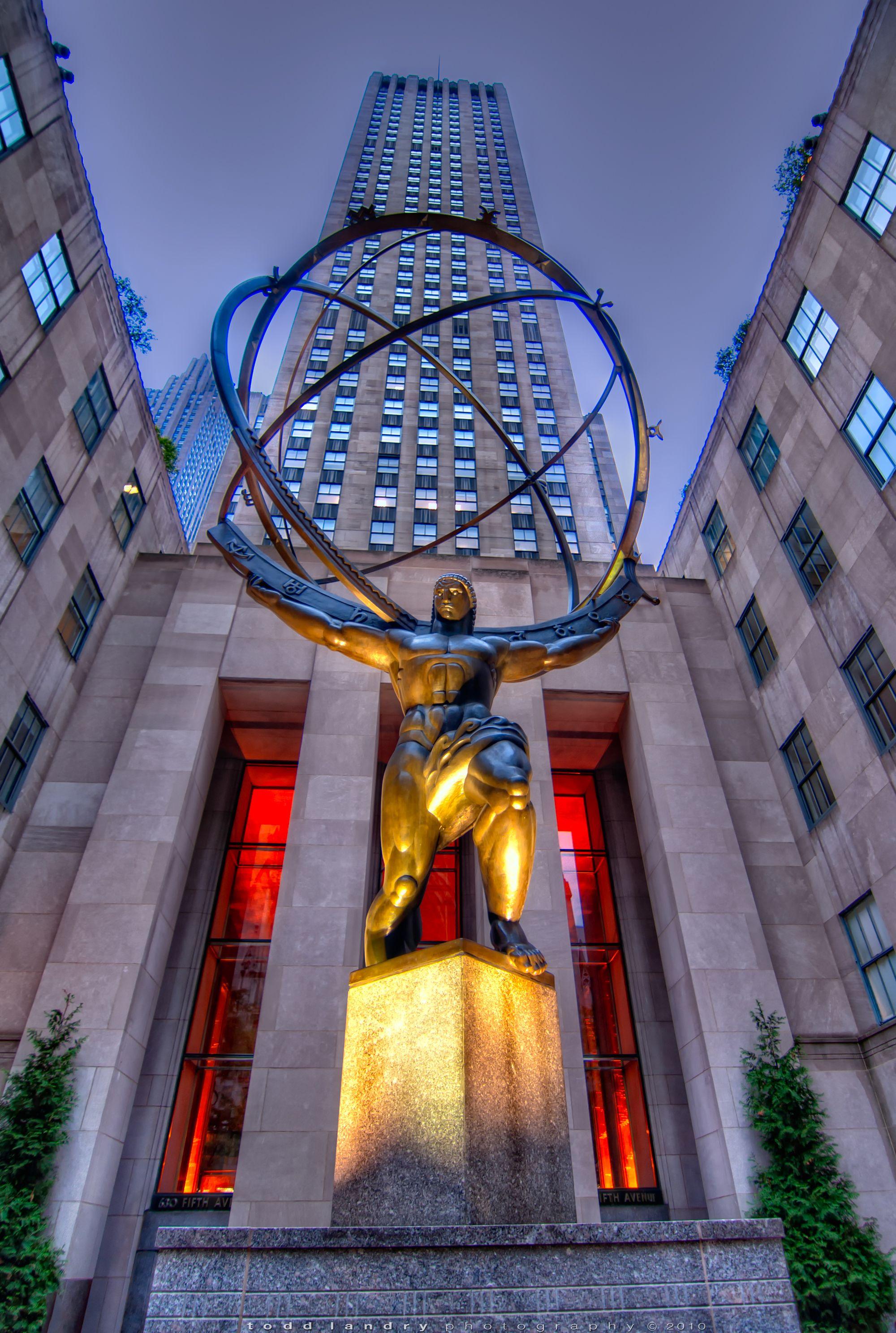 Atlas – Rockefeller Center | Pinterest