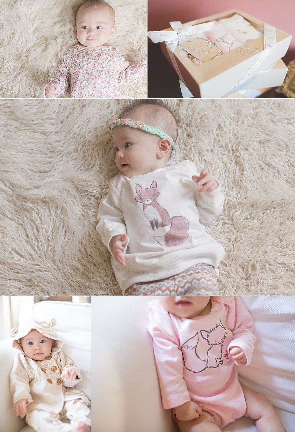 56f9d184ba26f Adorable baby outfits for fall. Loving this adorable outfit from @Kmart  Jaclyn Smith Spencer collection. Loving the whimsical prints with a fall,  ...