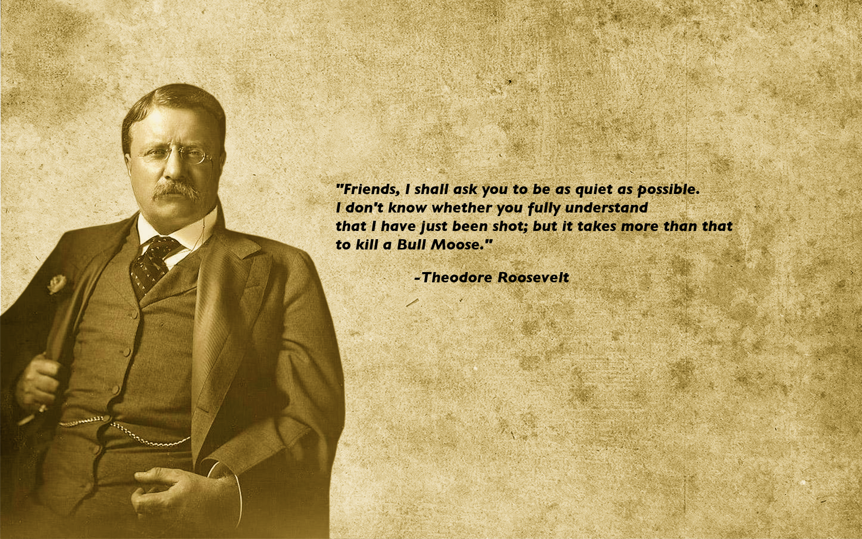 "Theodore Roosevelt Quotes It Takes More Than That To Kill A Bull Moose""  Hunting  Pinterest"