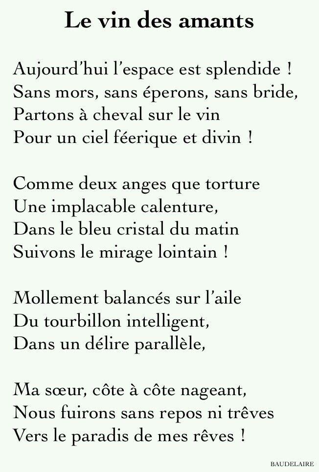 Poesia En Frances Palabras Interesantes Poesía Y Poemas