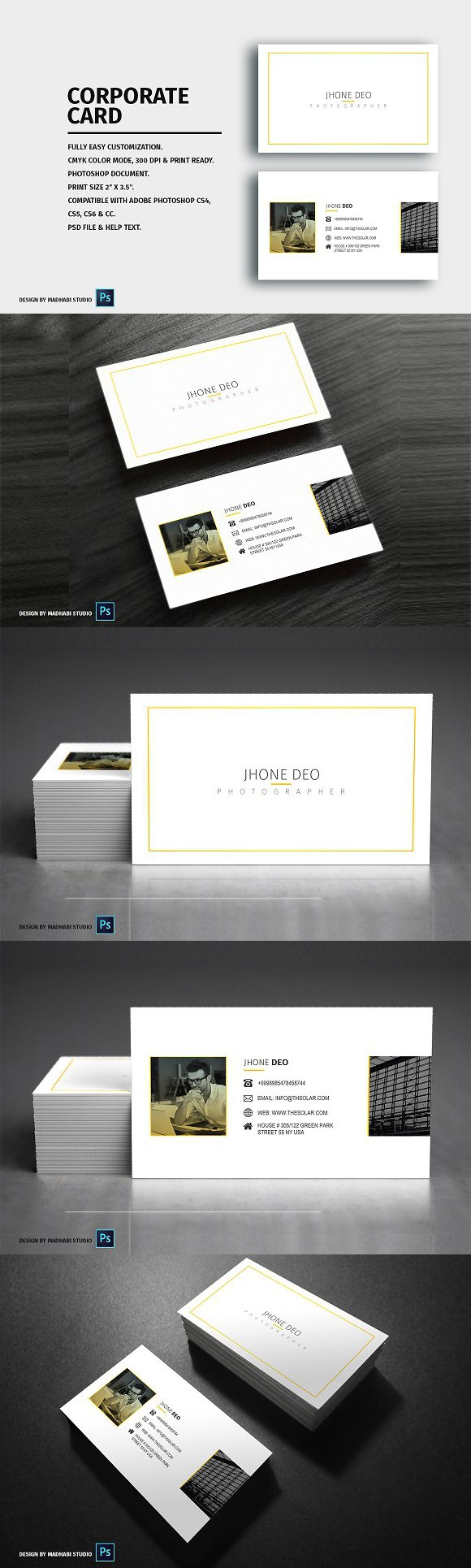 Minimal business card creative business card templates creative minimal business card creative business card templates reheart Gallery