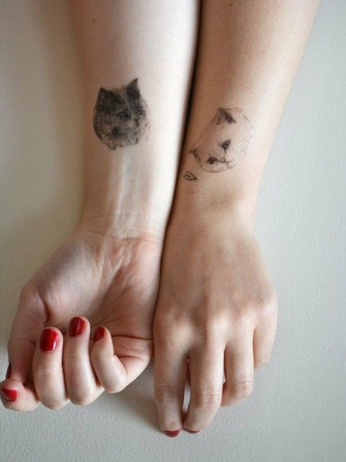 temporary kitty tattoos, for cat ladies everywhere