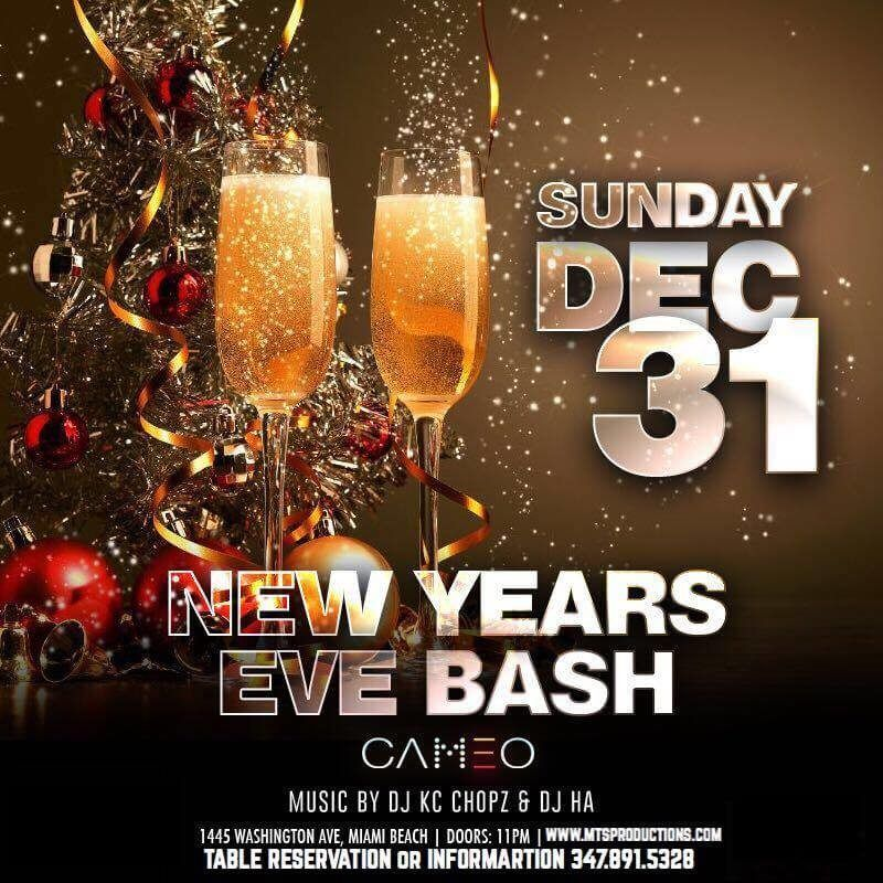 Cameo Miami New Years Eve Buy Tickets Now