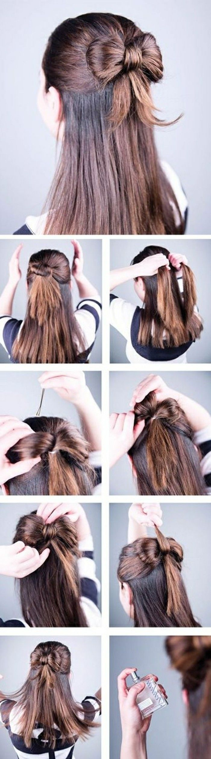 1001 Ideas For Beautiful Hairstyles Plus Instructions For Making Your Own Beautiful Hairstyle Hairstyles Ideas Hair Styles Hairstyle Long Hair Styles