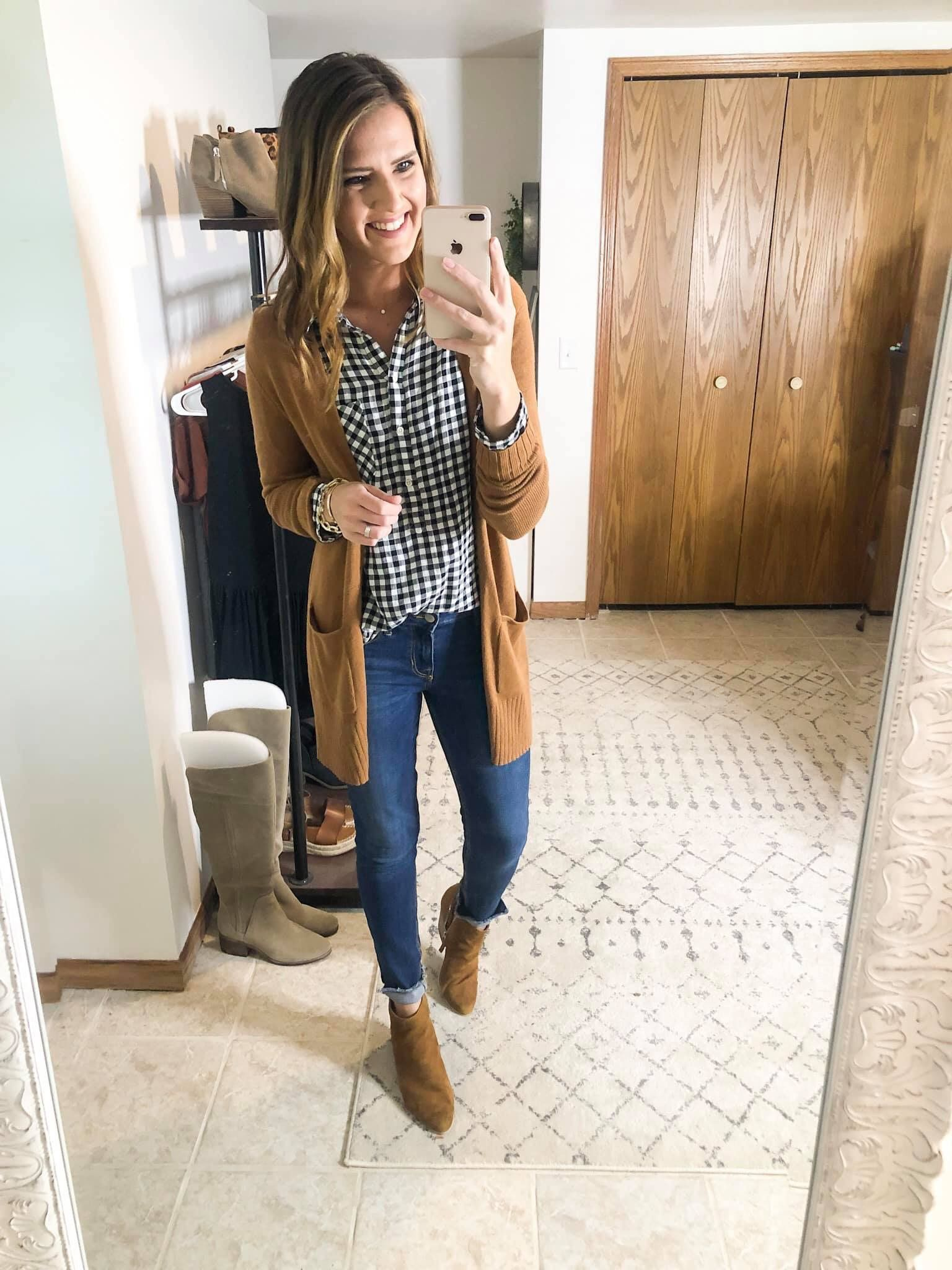 Pin by Sarah Kelm on Fall and winter fashion | Fashion, Womens plaid shirt, Winter fashion