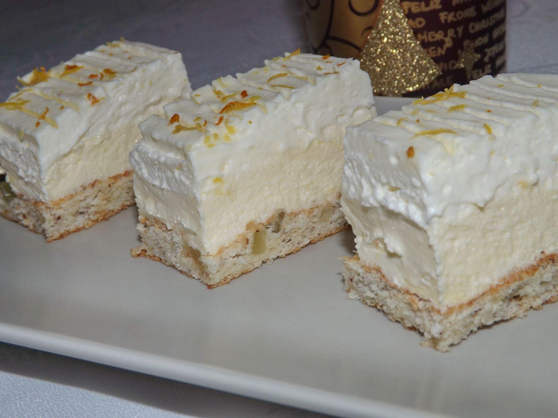 Reteta Prajitura cu crema de lamaie si crema de mascarpone Prajituri