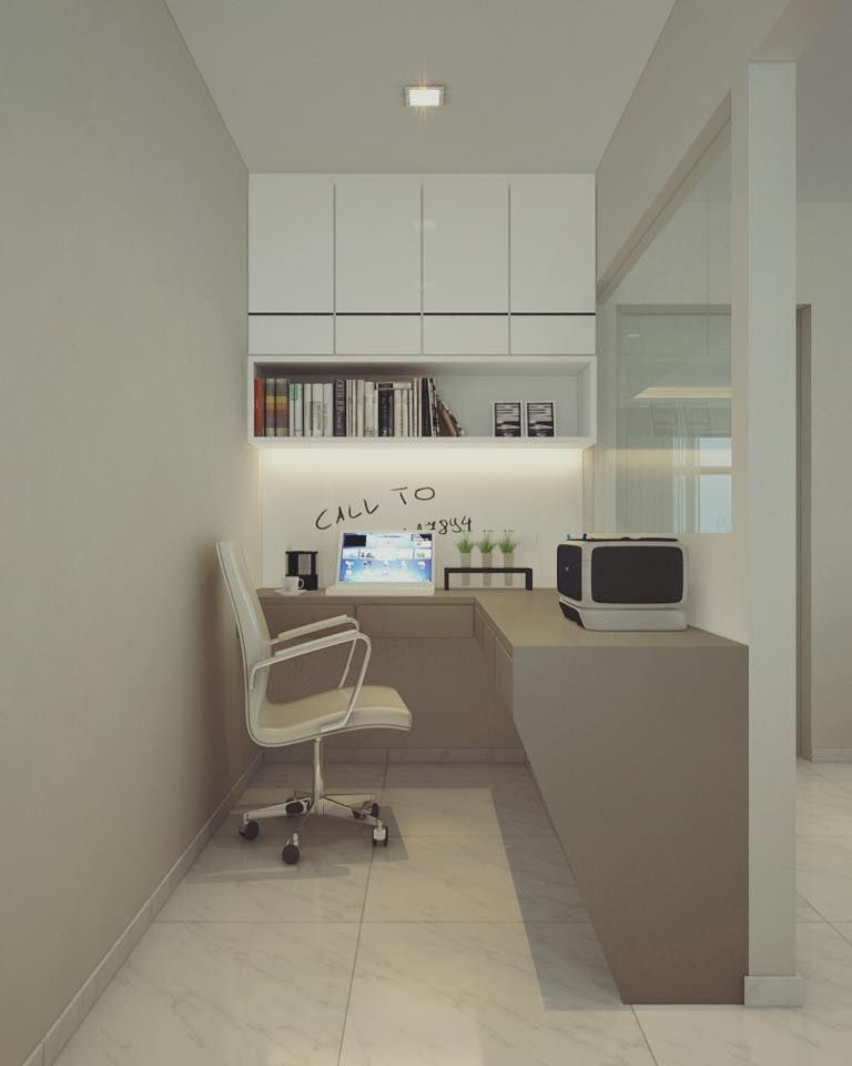 Hdb Study Room Design Ideas: Bishan Street 13, HDB Interior Design, Study Area