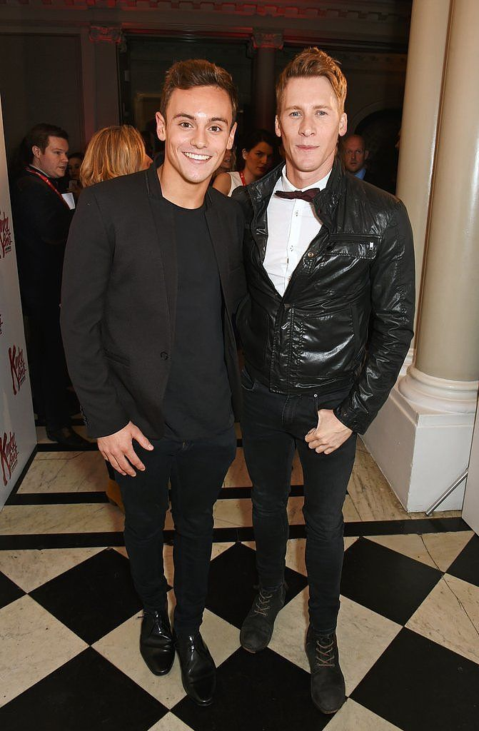 Tom Daley and Dustin Lance Black are engaged to be married.