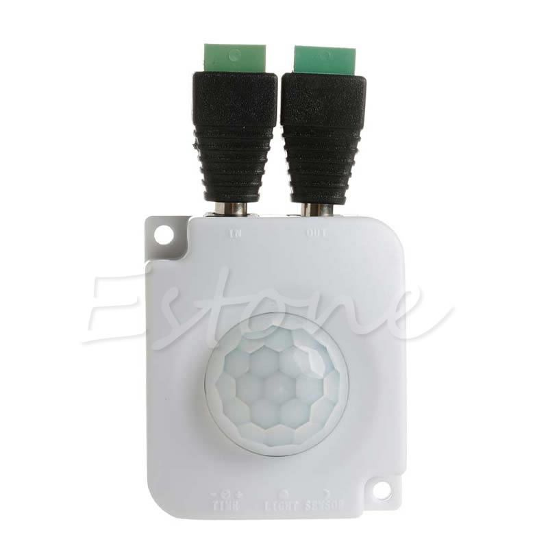 Automatic DC 12V 24V 10A Infrared PIR Motion Sensor Switch For LED ...