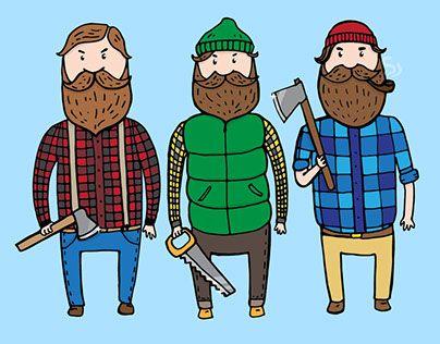 "Check out new work on my @Behance portfolio: ""Lumberjacks"" http://be.net/gallery/34144553/Lumberjacks"