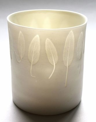 'from the veggie patch:Sage' tealight (large)