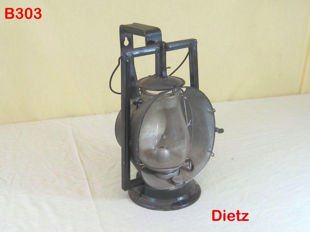 VINTAGE DIETZ ACME INSPECTOR KEROSENE LANTERN LAMP LIGHT NYCS RAILROAD TRAIN OLD #Dietz