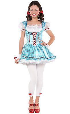 Teen Girls Dorothy Costume - The Wizard of Oz  sc 1 st  Pinterest & Teen Girls Dorothy Costume - The Wizard of Oz | Halloween Costume ...