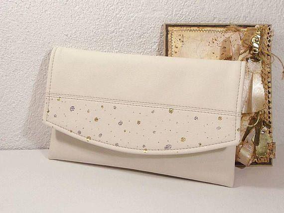 Cream Clutch For Bride Wedding Bag Evening Bags Clutches Bridesmaids