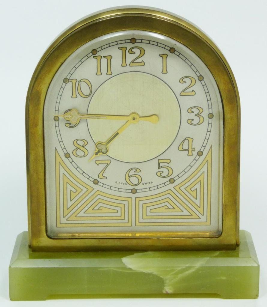 Art Deco Clock | Clock Watchers | Pinterest | Art deco, Clocks and ...