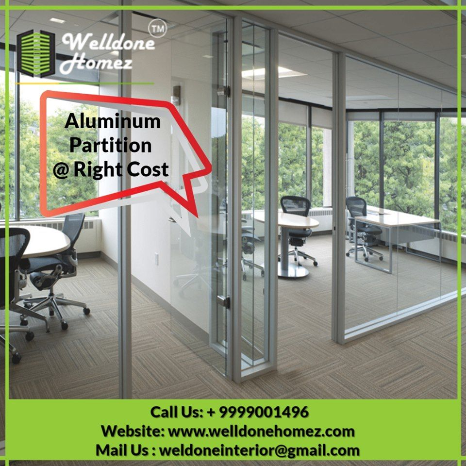 Aluminum Partitions Are Being Manufactured By Us In A Fine Way