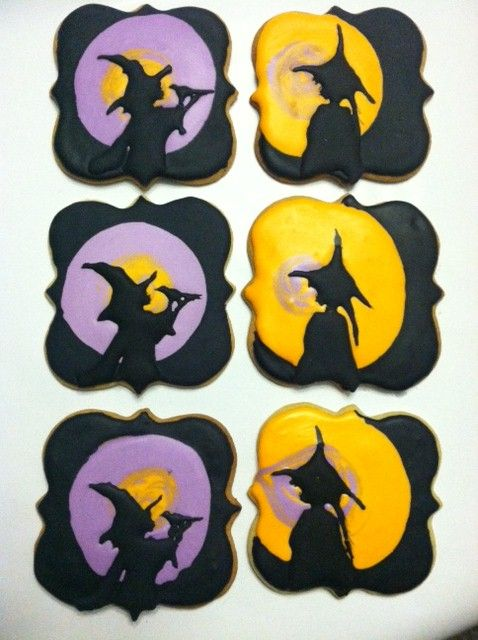 The culmination of my inspiration.  Cookies for Halloween  www.facebook.com/auntienays