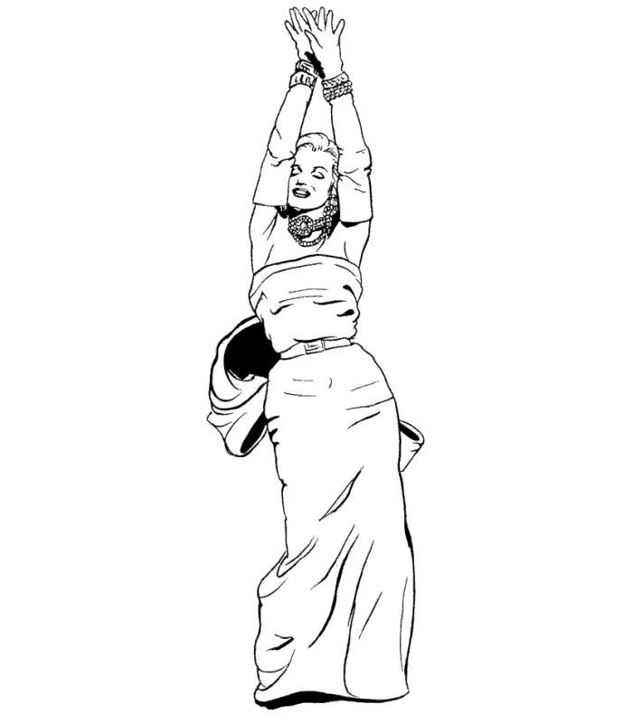 Marilyn Monroe Coloring Pages Bing Images Marilyn Monroe Art Marilyn Monroe Drawing Comic Drawing