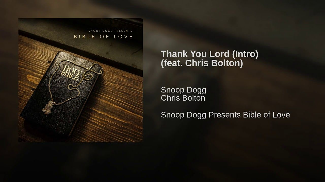 Thank You Lord (Intro) (feat  Chris Bolton) - YouTube