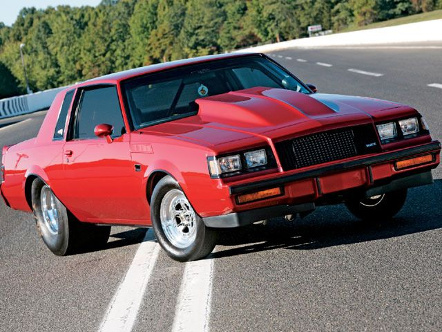 1987 Buick Grand National Deadly Red Buick Grand National Buick Classic Cars Muscle