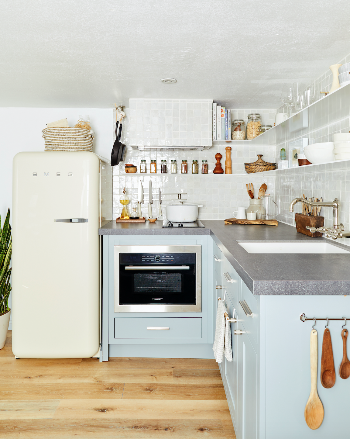 Small Kitchen Design Ideas and Layout Tips   Hunker   Small ...