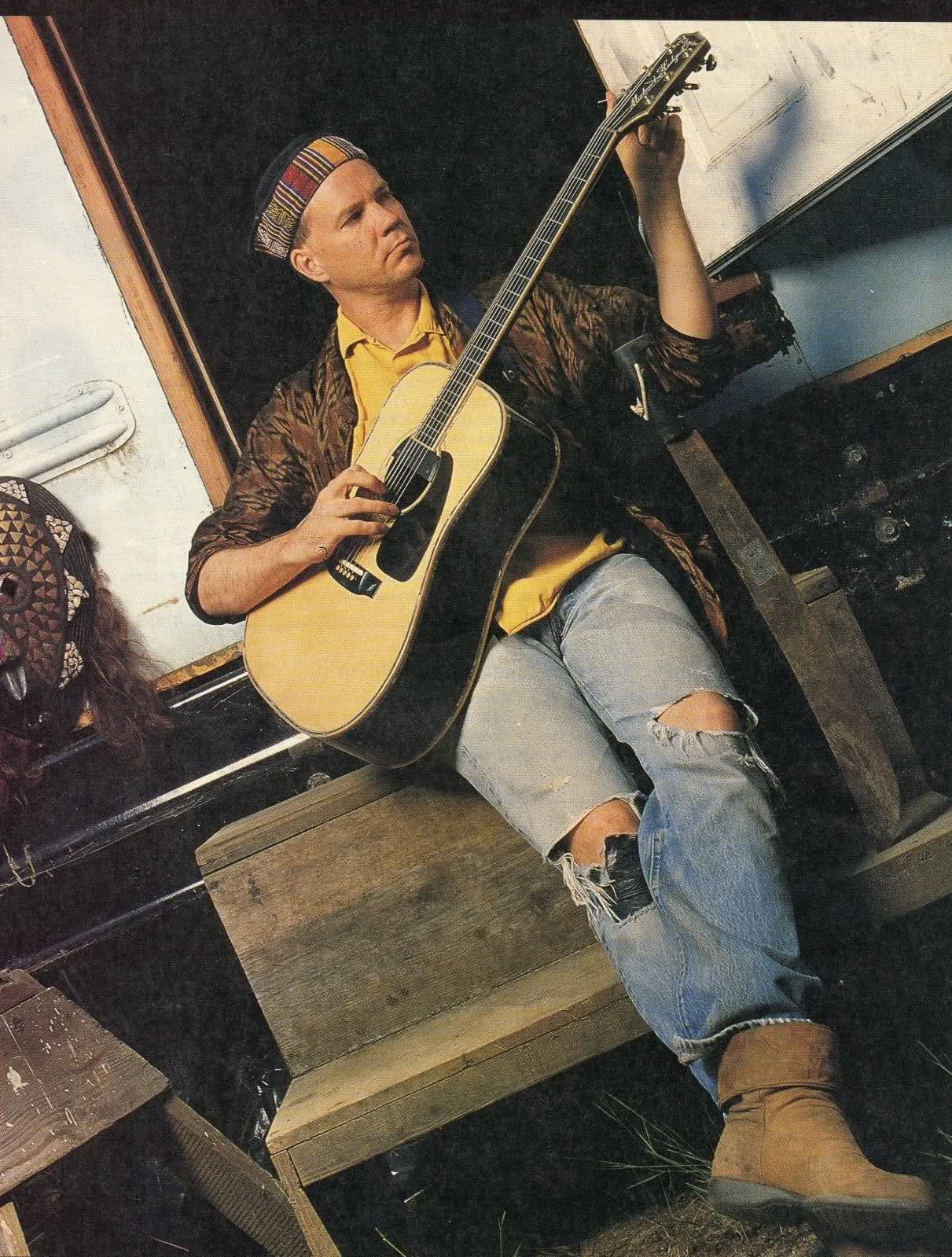 Michael Hedges With His Custom Takamine Guitar Music Pinterest 5039s And Modern Wiring Style Diagram From Http Wwwmylespaulcom Songs Guitars Players
