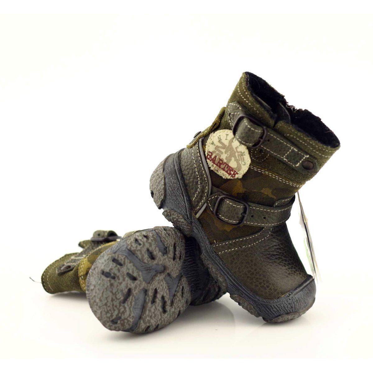 Green Boots For Kids Bartek 91543 Boots Winter Boots Warm Winter Boots