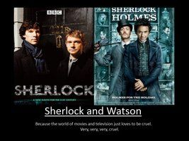 Sherlock and Watson Motivation by ~pureshadowwolf on deviantART