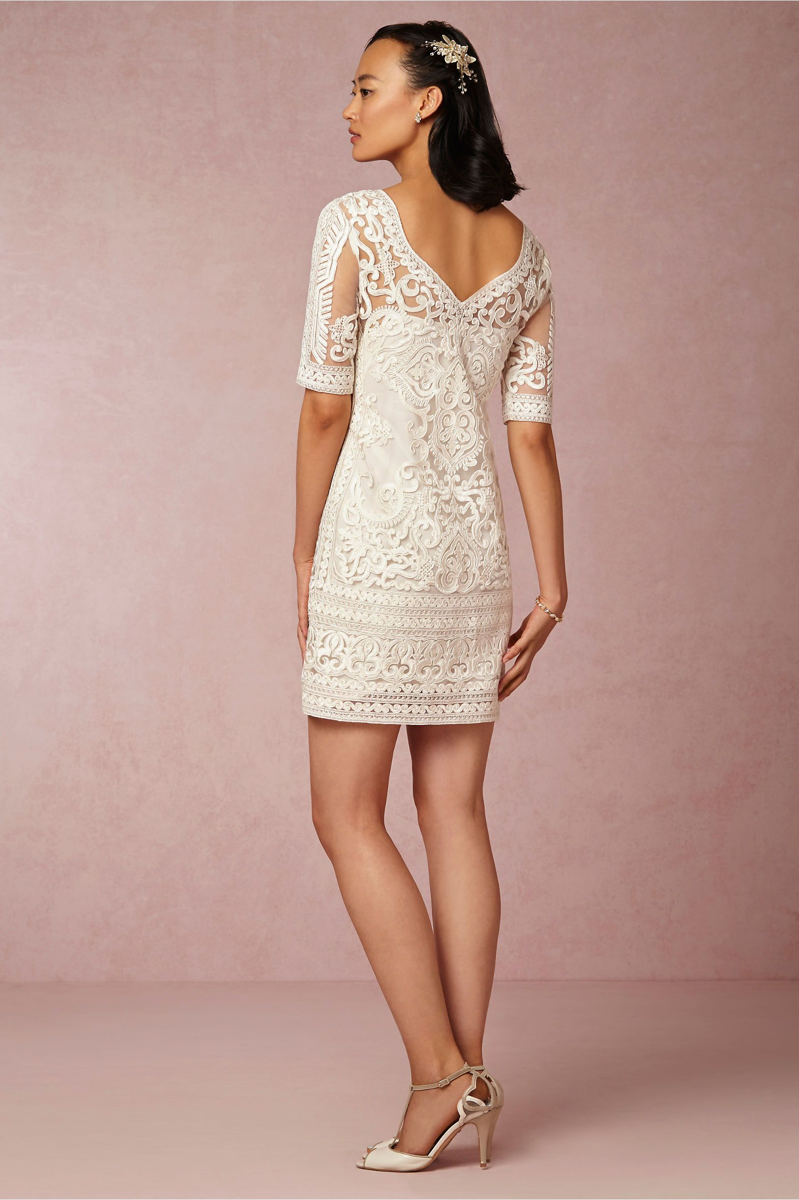 Marcía Dress in Sale at BHLDN | If I must Wear White | Pinterest