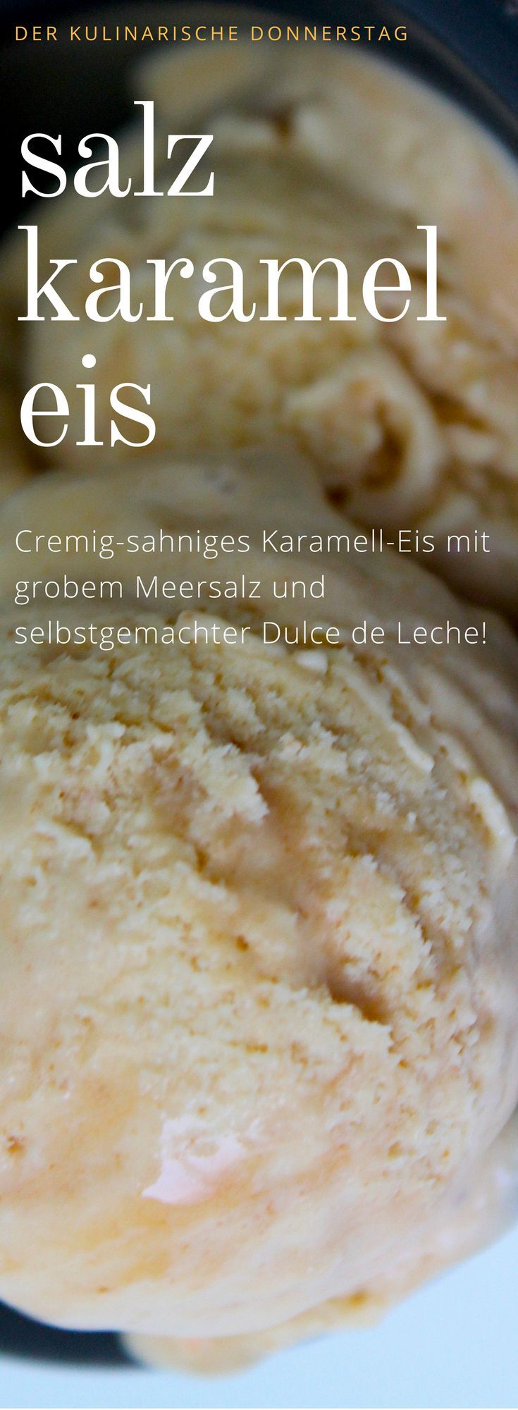 Photo of Salted caramel ice cream – creamy and prepared without an ice cream maker!