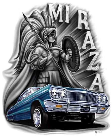 Homies mi raza back to main page homies is 2007 homieshop llc mijos is tm homies - Brown pride lowrider ...