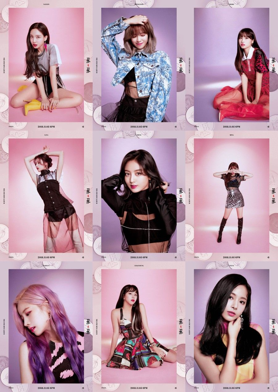 TWICE THE 6TH MINI ALBUM YES Or YES 2018.11.05 6PM #TWICE