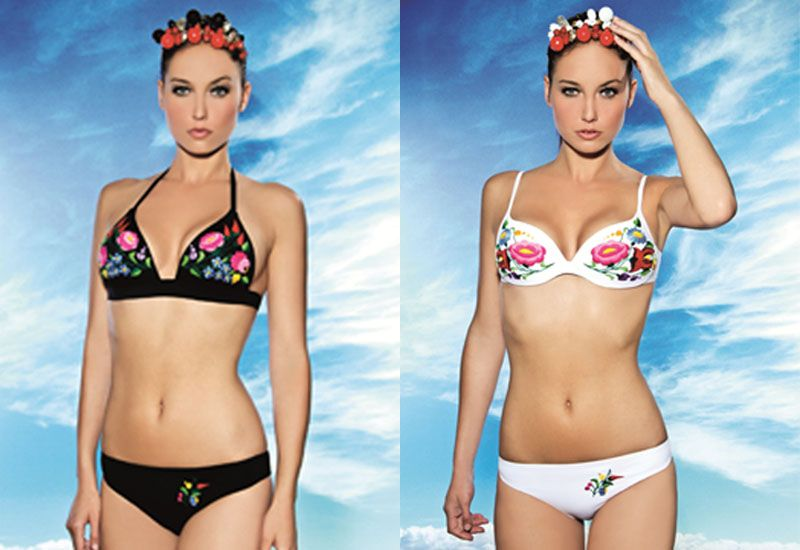 Hungarian embroidered swimwear for the fit and trendy ...