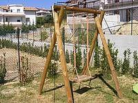 Casette In Legno Da Giardino Bricocenter.Altalena In Legno Per Giardino Casa Bricocenter Oh Mamma