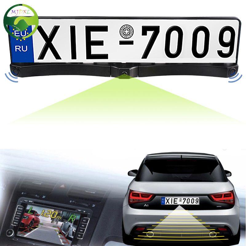 High Quality 170 European Car License Plate Frame Auto Reverse Rear ...