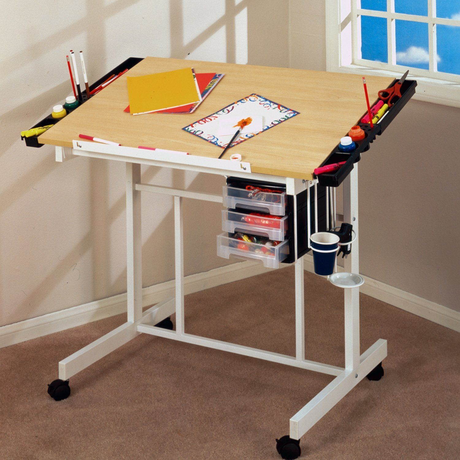 Modern drafting table - Kids Drafting Table Designs