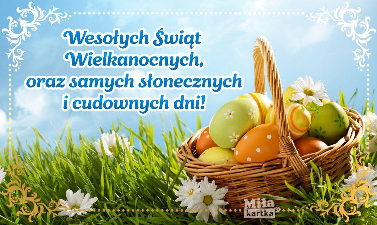 Wesołych Świąt Wielkanocnych! Kartki wielkanocne. #wielkanoc  #zmartwychwstanie #jajka #święta #pozdra… | Happy easter card, Easter craft  decorations, Vintage easter