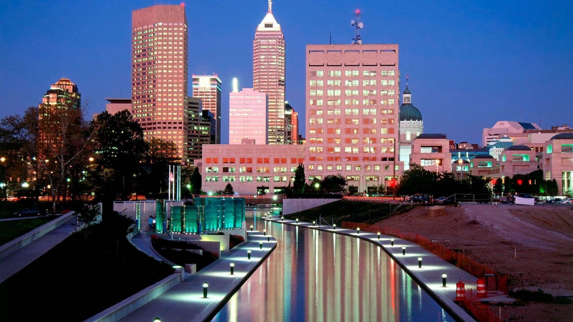 Hd City Indianapolis Architecture Wallpapers Architecture Wallpaper Cityscape Beautiful Views