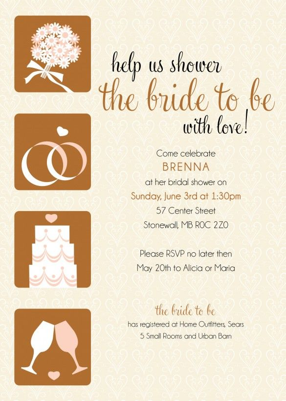 Madeline's Weddings & Events Custom Stationery - Bridal Shower Invite, mws custom stationery http://www.winnipegweddinginvitationsandstationery.com/