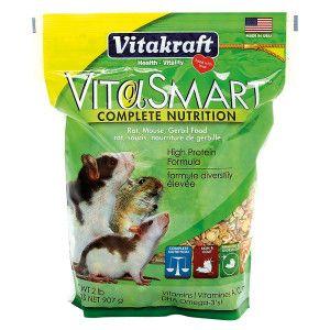 Vitakraft Vitasmart Rat Mouse And Gerbil Food Petsmart This