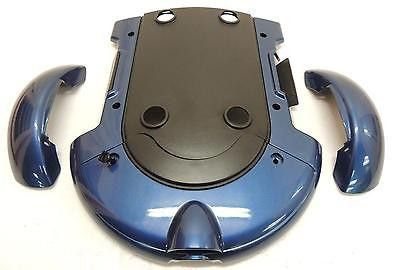 Pride Jet 3 Ultra Plastic Body Cover Shroud for Power Wheelchairs (Blue)